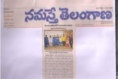 Obesity Treatment in Hyderabad Explained by Dr V Pareek published in NamasteTelangana newspaper