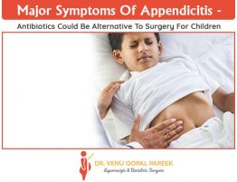 Major symptoms of Appendicitis