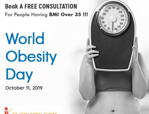 Book A Free Consultation For People Having BMI Over 35 On This World Obesity Day !