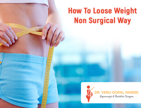 Consult for Non surgical weight loss treatment procedure by Dr Venugopal Pareek, Best Bariatric surgery doctor in Hyderabad