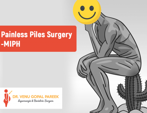 Call Now for Painless Piles (MIPH) surgery by Dr Venugopal Pareek, best Haemorrhoids surgeon in Hyderabad