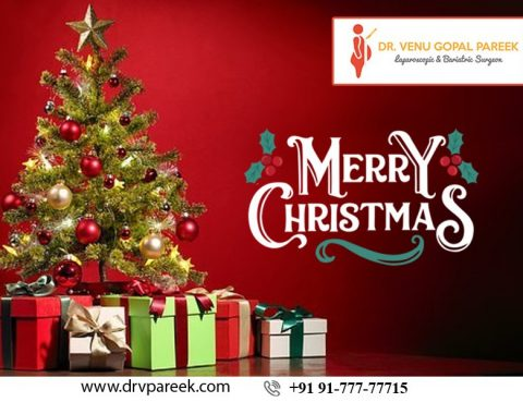 Wishing You A Happy and Joyful Christmas by Dr. Venugopal Pareek, One of the best Obesity treatment surgeons in Hyderabad